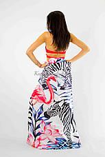 Покрывало пляжное   зебры и фламинго 150*200, фото 3