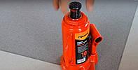 Домкрат гидравлический бутылочный mid 10т H 195-375мм