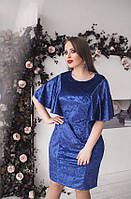Платье бархат 1111 /ДМо 48-50 52-54 56-58