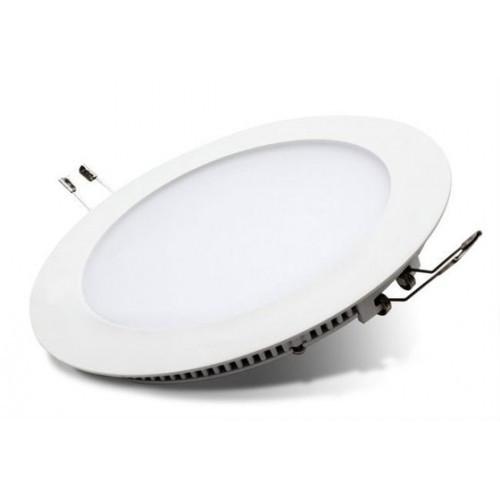 Встраиваемый светодиодный светильник Delux 24Вт круг