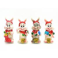 """Кролик """"Дед мороз"""" (12 шт/уп)(8,5х3х3 см) , Распродажа"""