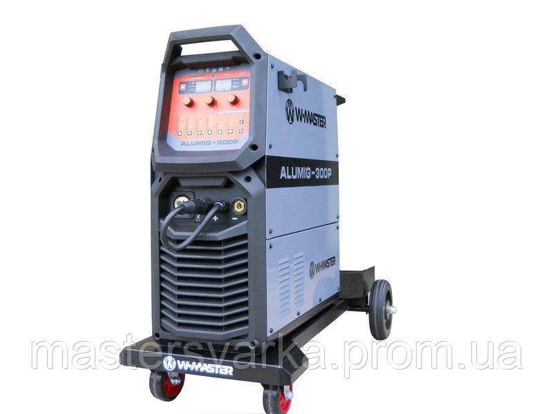 Сварочный полуавтомат для сварки алюминия WMaster ALUMIG-300P ( 380 Вольт )
