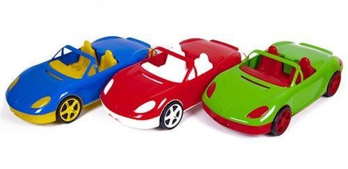 Машина кабріолет,  46см 07-701-1 Киндервей, 3 види