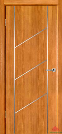 Межкомнатные двери Белоруссии Флэш 12 светлый дуб ПГ, фото 2