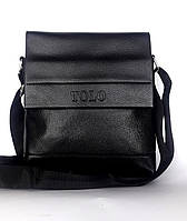 "Мужская сумка-планшетка ""Tolo "" черная"