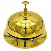 Колокольчик  портье бронзовый (Ø-17,5см., h-13см.) , Музыка ветра и колокольчики