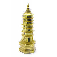 Пагода металл (17,5х6х6 см) , Магические предметы, Фен-шуй