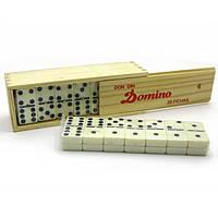 Домино в деревянном футляре (18,5х6,3х41 см) , Игровая коллекция