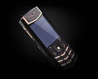Копия телефона Vertu Модель Signature S Design Pure Black Red Gold
