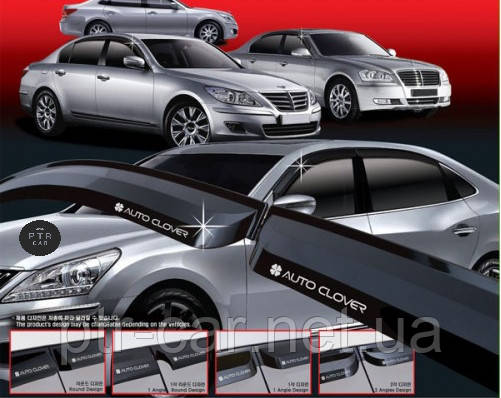 Дефлекторы окон (ветровики) Ford KUGA II 5D 2012R-> 6шт (korea)
