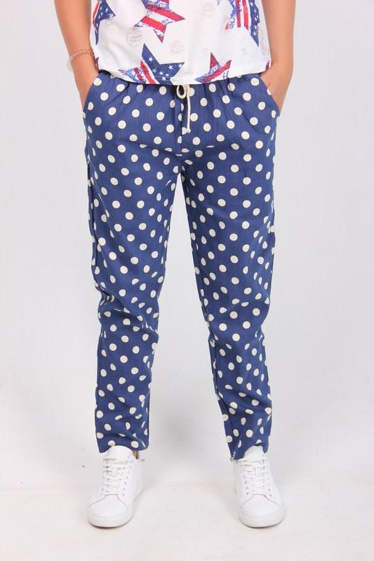 Джинсовые штаны для женщин от производителя (универсальный,синий), фото 1