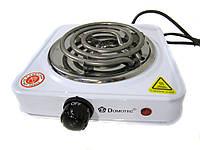 Электроплитка спираль Domotec MS-5801 ( настольная плита )