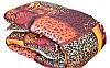 Леопардовое одеяло овечья шерсть + поликатон оптом и в разницу