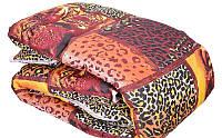 Леопардовое одеяло овечья шерсть + поликатон оптом и в разницу, фото 1