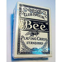 """Карты игральные """"Bee"""" (9х6,5х1,8 см)(12 шт/уп) , Игровая коллекция"""