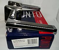 Ручка Punto раздельная PLUTON QR SN/CP-3 матовый никель/хром