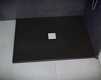 Душевой поддон черный Nox 120x90x3.5 Besco