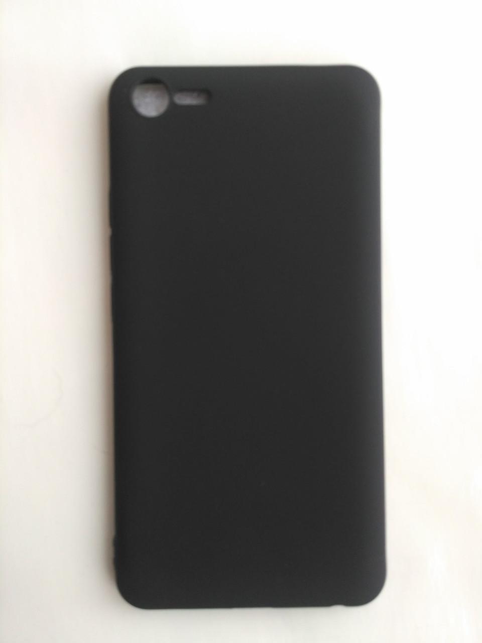 Силиконовый чехол для Meizu E2 черный матовый