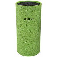 Колода для ножей зеленая 11*22см KingHoff  KH1094