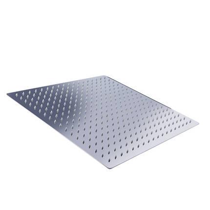 Рotato P104-40 лейка потолочная квадратная 40 см, фото 2