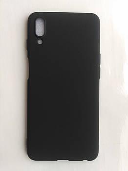 Силиконовый чехол для Meizu E3 черный матовый