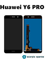 Модуль для Huawei Y6 Pro (TIT-U02/TIT-AL00)/Enjoy 5/Honor Play 5X + тачскрин (сенсор) Оригинал (Китай)