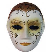 Маска карнавальная Венецианская папье-маше (25см) , Маски