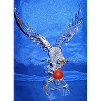 Орел хрустальный (25см) , Изделия из хрусталя