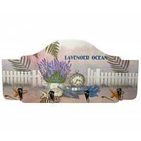 "Ключница ""Лаванда"" (36х17,5х3,5 см) , Картины, Бабочки в рамке, Панно, Ключницы"