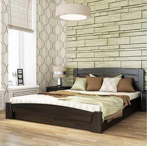 Ліжко двоспальне Селена-Аури з підйомним механізмом тм Естелла