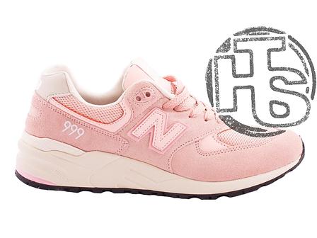 Женские кроссовки New Balance 999 Pink, фото 2