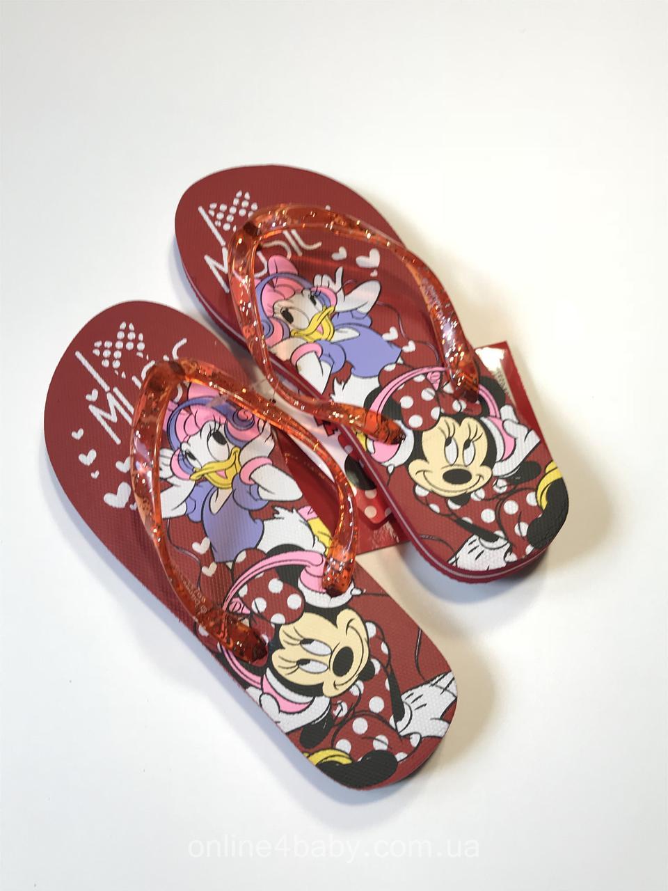 4485e83b3 Детские шлёпанцы, вьетнамки Disney на девочку, размер 30/31: продажа ...