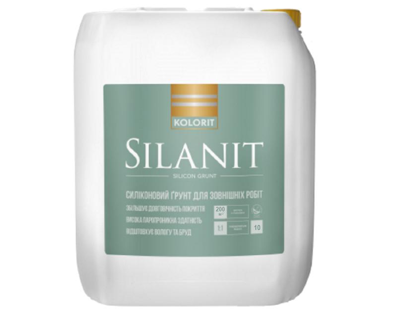Грунтовка силиконизированная KOLORIT SILANIT глубокого проникновения  10л