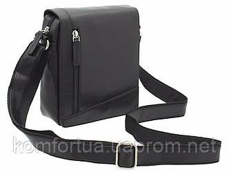 Маленькая  черная сумка Visconti S7 (black)