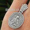Серебряная иконка Святая Матрона, фото 4