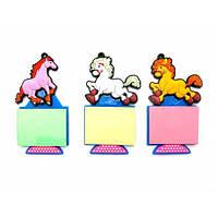 Лошадь магнит на холодильник со стикером (12 шт/уп)(10,5х6х1 см) , Распродажа