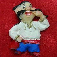 """Магнит """"козак"""" (10шт. в упаковке) , Украинские, славянские сувениры"""