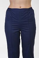 Медицинские женские штаны однотонные
