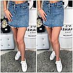 Женская джинсовая юбка, фото 4