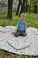 Сумка-коврик для игрушек 200*200 см (коврик-трансформер для игр, мешок для игрушек)