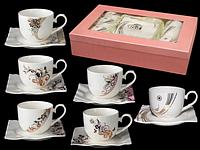 1750 Набор чайный 12пр. 250мл Сваровски