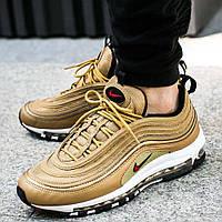 """Оригинальные кроссовки Nike Air Max 97 OG QS """"Metallic Gold"""" (884421-700)"""