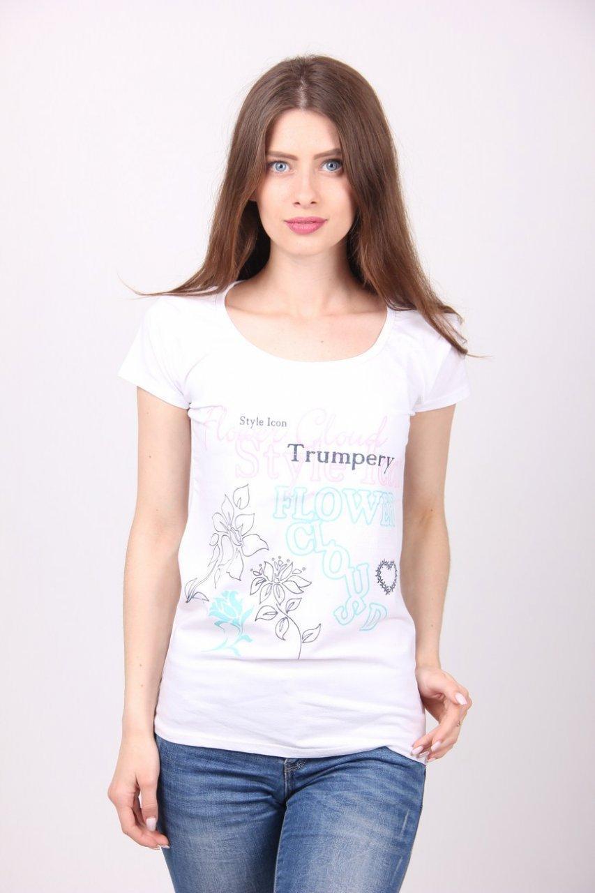 Модная женская футболка от производителя, фото 1
