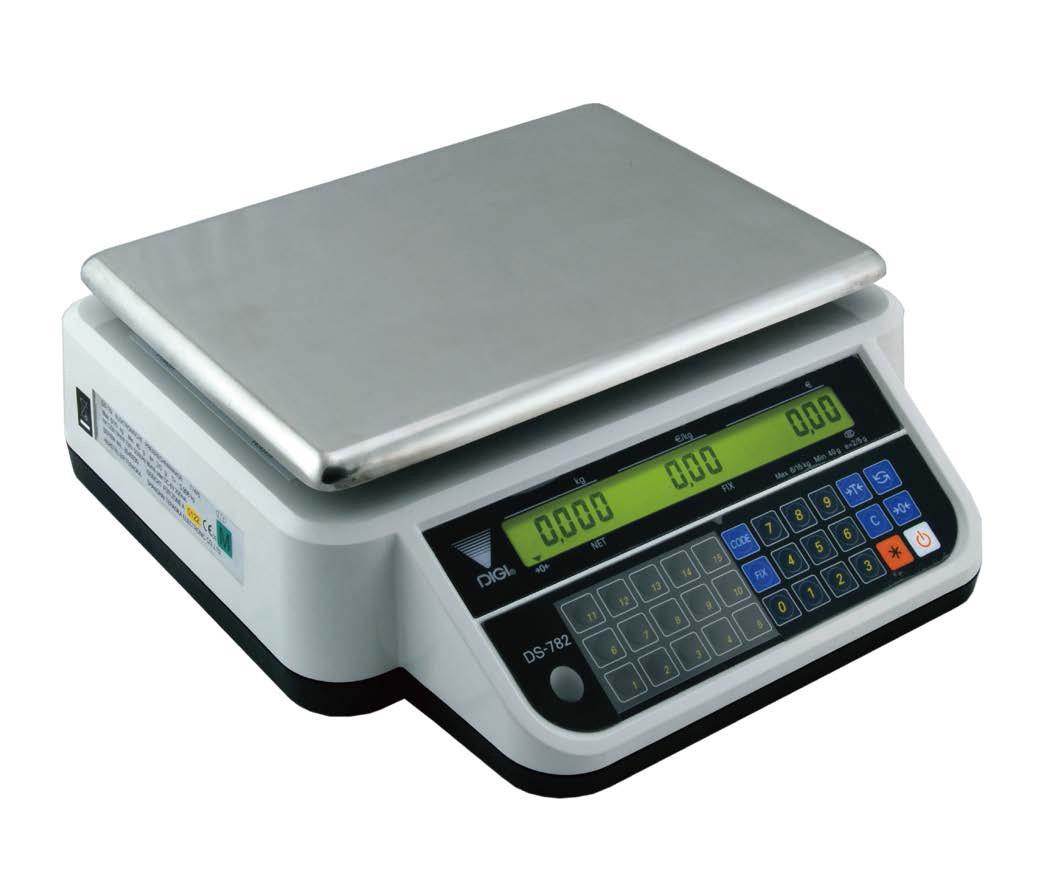 Ваги торгові Digi DS-782B до 30 кг