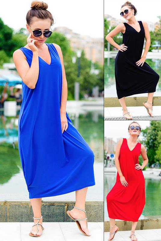 Стильне жіноче плаття-мішок *Ева*