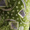 Мебельная ткань ковровка Бельгия ширина 140 см сублимация 5045