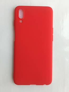 Силиконовый чехол для Meizu E3 красный матовый