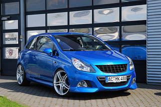 Тюнинг Opel Corsa D (04.2006-...)