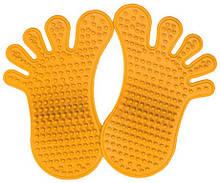 Масажний килимок від плоскостопості «Сліди» 28х18 см
