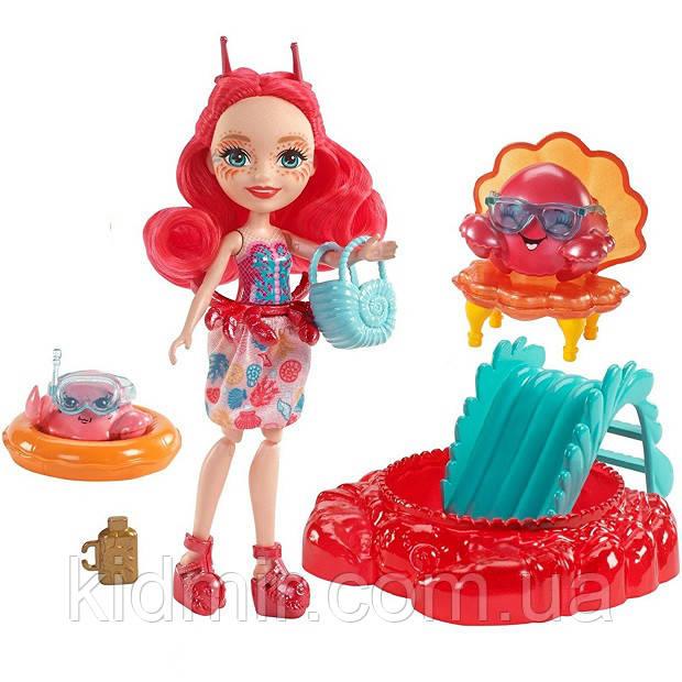 Кукла Enchantimals краб Камео Крабби Морские подружки FKV60